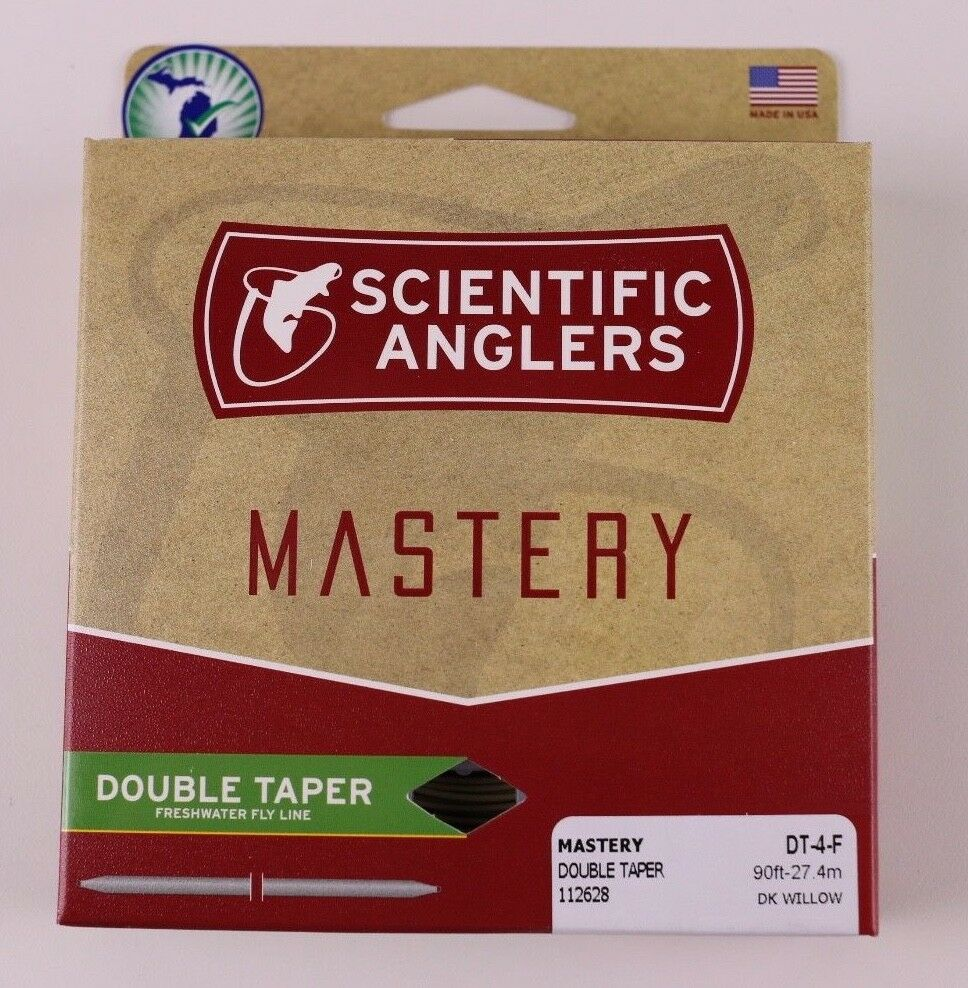 Scientific Anglers Mastery Double Taper Fliegen Line DT4F Free Fast Shipping 112628