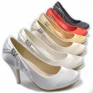STRASS-DE-LUXE-Chaussures-mariee-POUR-MARIAGE-Escarpins-soiree