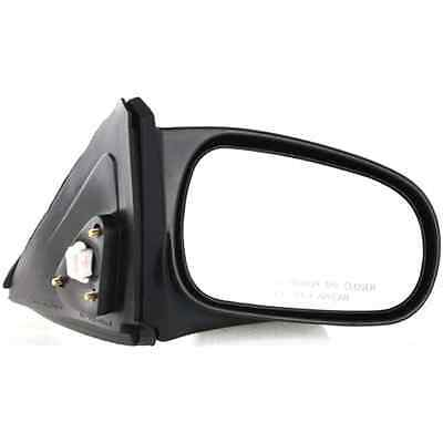NEW RIGHT DOOR MIRROR FITS HONDA CIVIC COUPE 2006-2011 NON-POWER//HEATED BLACK