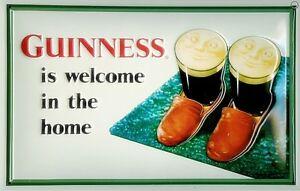Guinness-Slippers-embossed-steel-sign-300mm-x-200mm-hi
