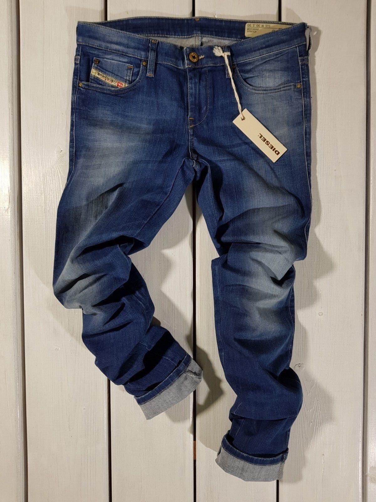 Prezzo di Vendita Consigliato Nuovo Diesel DONNA Jeans Skinzee-Low 0826f