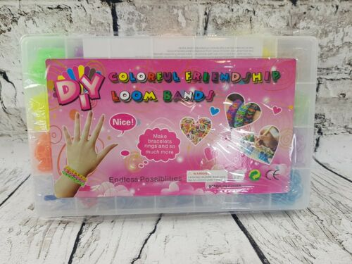 Brand New and sealed Colorful Friendship Loom bands 4200 pcs Complete set