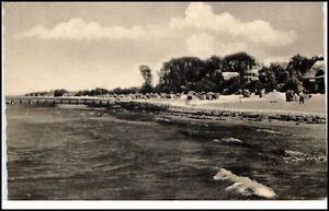 Ddr Postkarte Um 1960 Insel Poel Schwarzer Busch Partie Am Strand