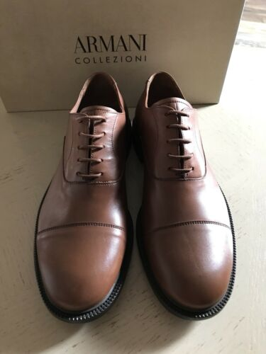 Shoes X6c050 Italy New675 Collezioni Brown Oxford Us Leather