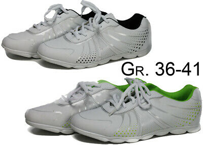 Damen Herren Turnschuhe weiße Sohle NEU Sportschuhe Schuhe Sneaker @2510Y | eBay