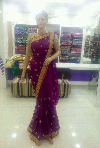 Designer Sari di Saree Lehenga Wear Indiano Party Tradizionale Ethnic New Bollywood ET7qR