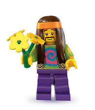 LEGO 8831 - Mini Figures Series 7 - HIPPIE Minifig / Minifigure