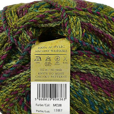 James C Brett MARBLE CHUNKY 200g Knitting Wool - LATEST SHADES