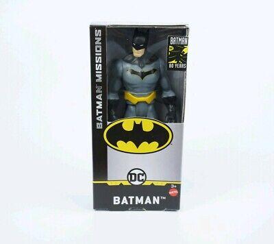 "Batman Missions Figure Batman 80 Years Mattel DC 6/"" figure rare"
