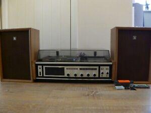 Sanyo-G-2611-kilolitr-Etat-Solide-Centre-de-musique-record-Cassette-Lecteur-Radio-Haut-parleurs