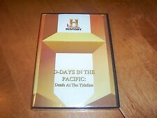 DEATH AT THE TIDELINE Tarawa Guadalcanal WWII Marines HISTORY CHANNEL Rare DVD