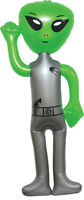 56 Jumbo Inflatable Alien- Green -blow Up Toy Party Prize Big Decoration