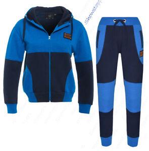 New Boys Kids fleece tracksuit Sports Jogging Bottom Hoodie age 2 to 13 years