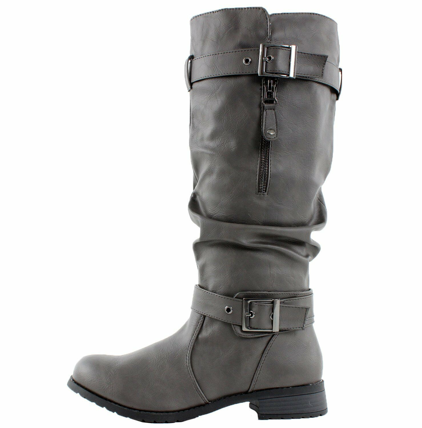 Womens West Blvd Madras Riding Slouch Boots NEW in Box