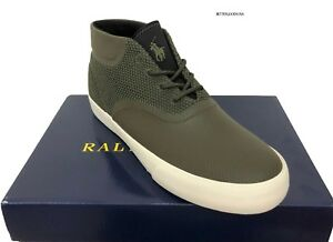Polo Sneakers Vadik Chukka Men About Top Details Shoes Ralph High Green 11 Ankle D Mesh Lauren n80wmNOv