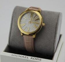 cab85ce19362 item 4 NEW AUTHENTIC MICHAEL KORS HARTMAN GOLD CRYSTALS PINK LEATHER WOMEN  MK2480 WATCH -NEW AUTHENTIC MICHAEL KORS HARTMAN GOLD CRYSTALS PINK LEATHER  WOMEN ...