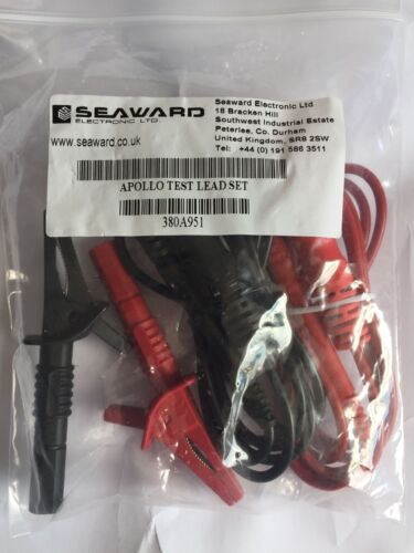 Earth Bond Lead /& Insulation probe Seaward Apollo Test Lead Set 500 600 400