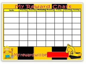 Arracheuse-reward Chart-comportement-tâches-objectifs - Pot Stylo Sans/autocollants-res-goals- Potty- Free Pen/stickers Fr-fr Afficher Le Titre D'origine