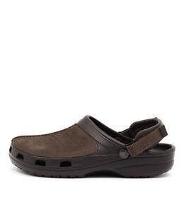 53ab2ab0305c77 New Crocs Yukon Mesa Espresso Mens Shoes Casual Sandals Sandals Flat ...