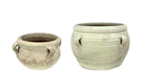 Clay Planters Container Pot Trough Flower Pot on pot an amphora Ø 25 CM//Ø 40 cm