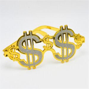 Fool-Day-Halloween-Funny-Glasses-Dollar-Symbol-Glasses-Decoration-Toys-AU