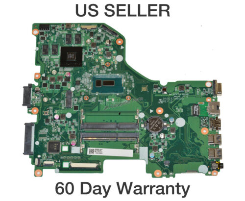 Acer Aspire E5-573G Motherboard w// Celeron DC 3765U 1.9Ghz CPU NB.MVM11.00J