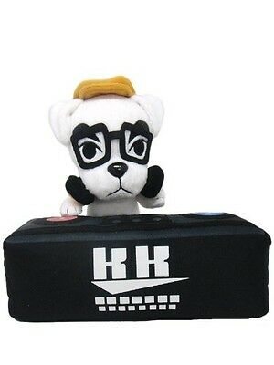 "New Little Buddy Animal Crossing USA 8"" DJ K.K. Slider Stuffed Plush Doll Toy"