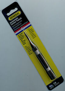 General Tools 79 Steel Automatic Center Punch