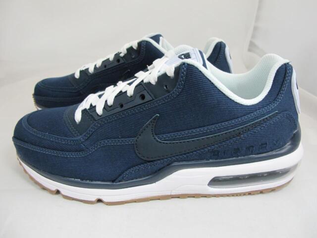 318b557dd0 Nike Air Max Ltd 3 TXT Mens 746379-412 Navy Obsidian Blue Running ...