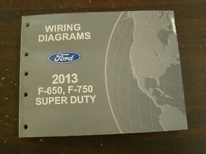 OEM Ford 2013 F650 F750 Truck Shop Manual Wiring Diagram Book nos Super  Duty | eBay | Ford F 750 Wiring Diagram |  | eBay