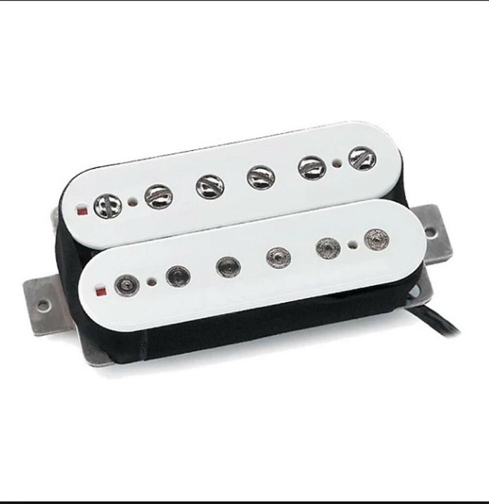 New Seymour Duncan SH-1n 59 4-Conductor Neck Humbucker Pickup Weiß USA Made