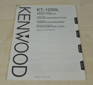 Kenwood KT-1030L Bedienungsanleitung (mehrsprachig, auch in Deutsch) (2)