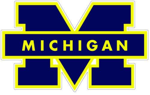 Michigan Wolverines NCAA Football //Vinyl Sticker //Decal for car laptop window