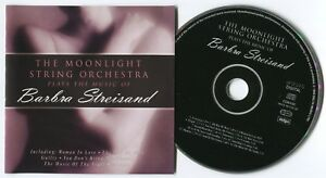 BEE-GEES-MOONLIGHT-STRING-ORCHESTRA-PLAYS-BARBRA-STREISAND-1999-UK-14-TRACK-CD