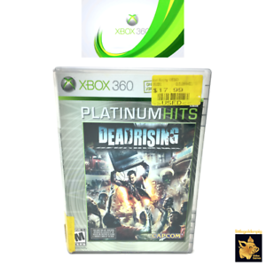 Dead Rising Capcom  (2006)  Xbox 360 Video Game Case Disc Tested Works