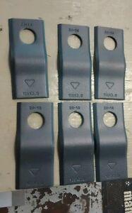 TP-E80207WN JOHN DEERE DISC MOWER CONDITIONER BLADE BOLT KIT 6 PACK