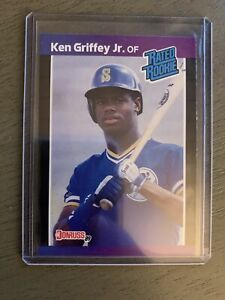 1989-DONRUSS-KEN-GRIFFEY-JR-ROOKIE-33-RC-Pos-PSA-10-Gem-Mint