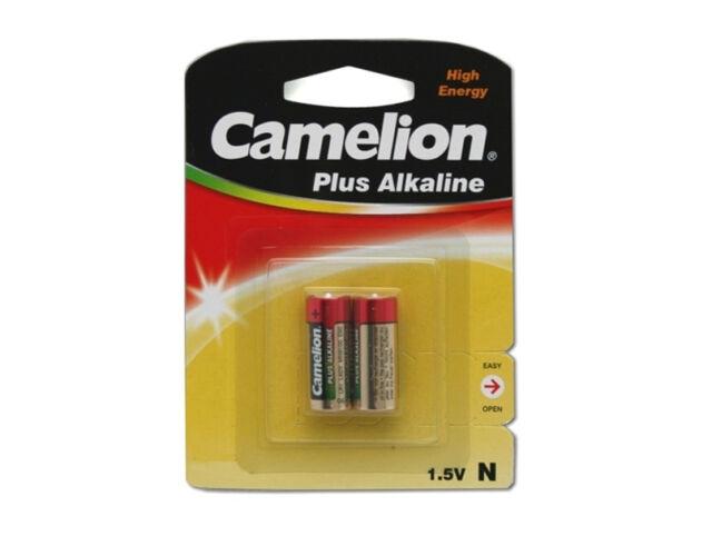 8 Stück Batterie N Lady Camelion Plus Alkaline 1,5V LR1 E90 MN9100 2 Blister