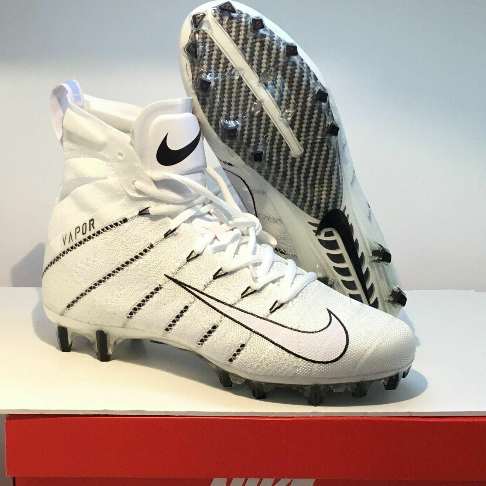 Nike Vapor Untouchable 3 Elite Fußball Stollenschuhe Weiß Schwarz Ah7408 110 Sz