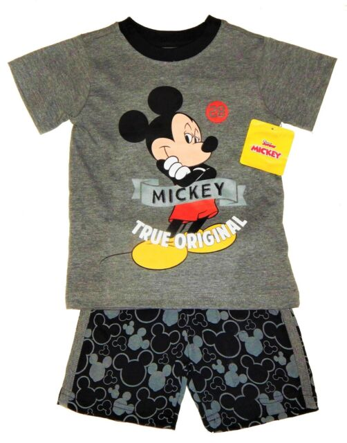 Disney Mickey Mouse Toddler Boys Tee-Shirt /& Shorts 4T