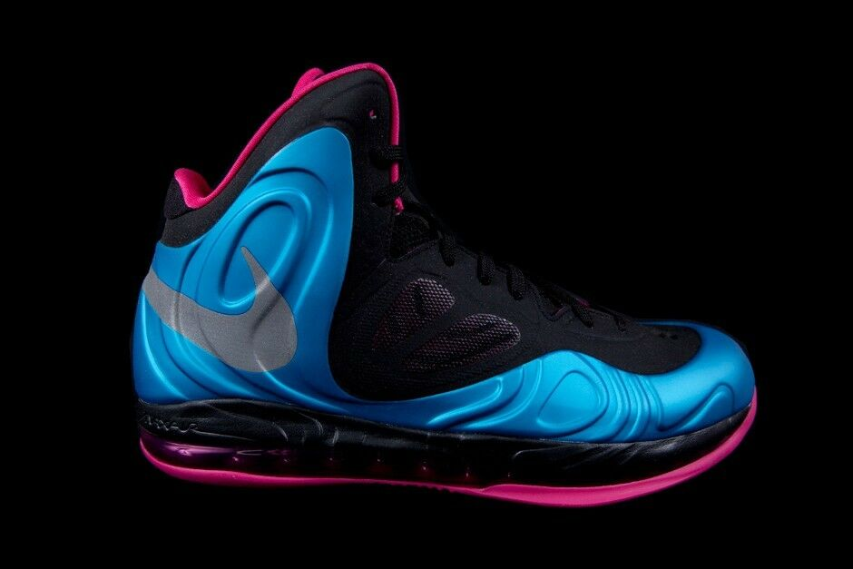 NIKE AIR MAX HYPERPOSITE 524862-400 DYNAMIC BLUE/REFLECTIVE SILVER-FIREBERRY The most popular shoes for men and women