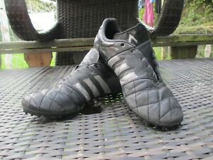 best website e6dea c90fd Details about adidas Ace 15.3 FG/AG Size 7 UK Core Black/Silver Metallic  Football Boots Rare
