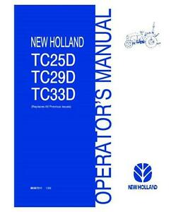 New Holland Tc Tractor Wiring Diagram on