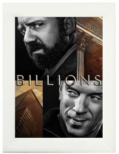 A3 A4 Sizes Billions TV Show Poster or Canvas Art Print