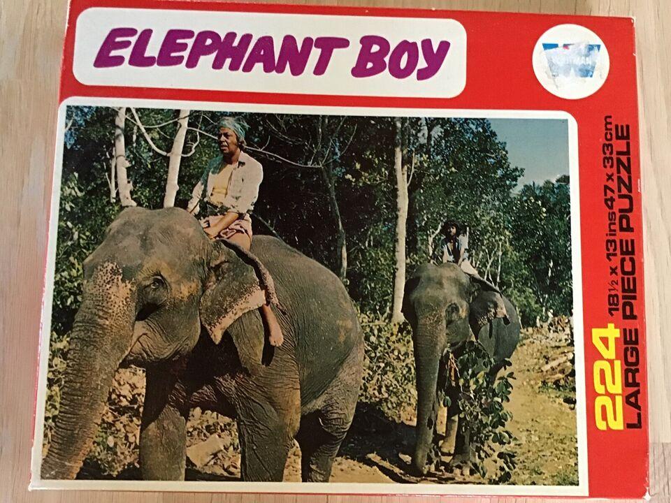 Elefant Boy, Whitman, puslespil