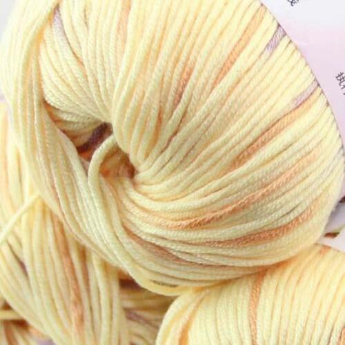 Sale New 3Ballsx50g Soft Cashmere Silk Velvet Baby Hand Knitting Crochet Yarn 19