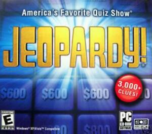 Jeopardy! 2007 PC CD popular TV quiz question answer ...