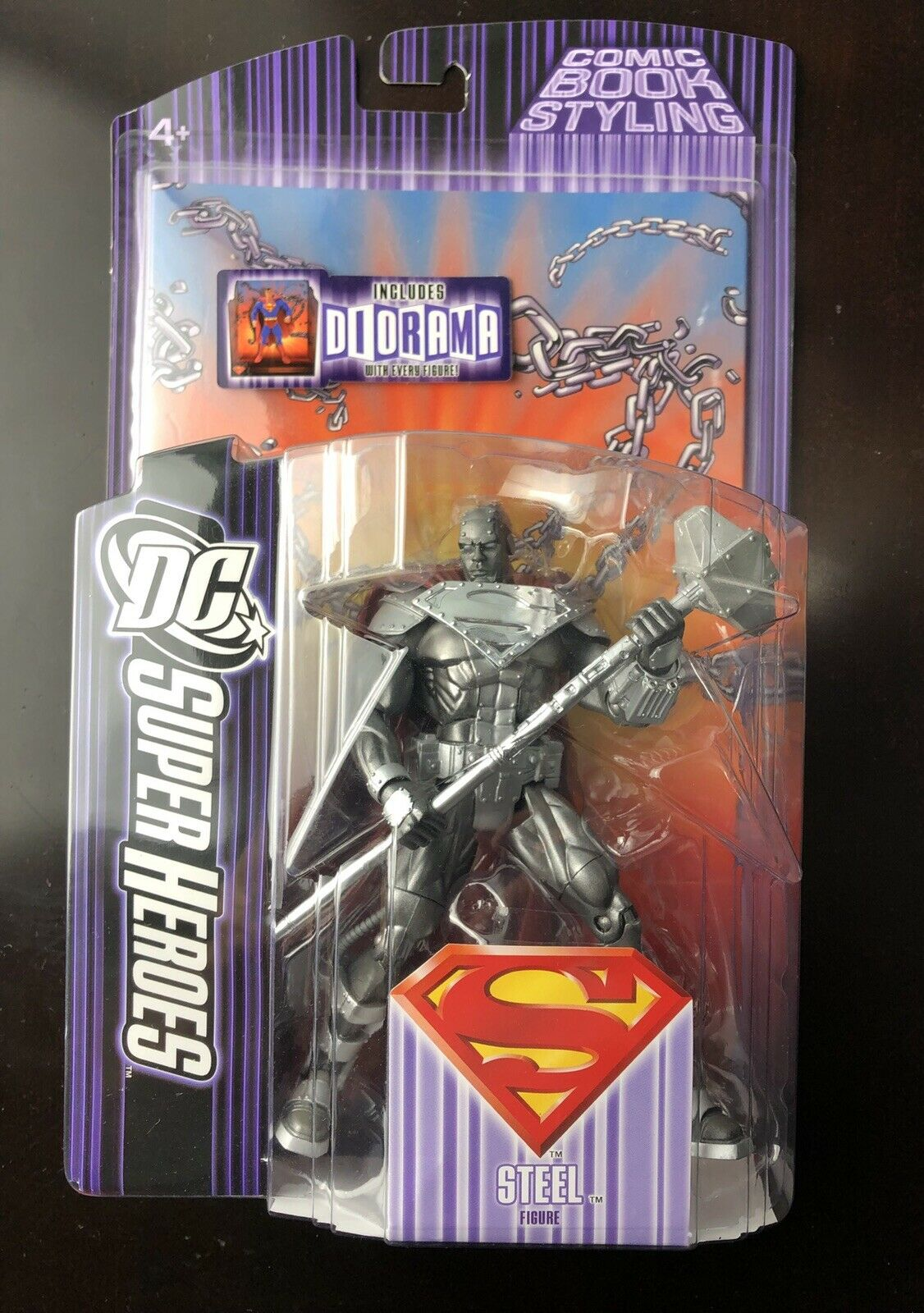 DC clásicos universo Acero Completo 6  Figura De Acción súperman