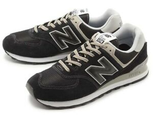 NEW-BALANCE-574-Classic-Scarpe-Uomo-Sneakers-BLACK-ML574EGK