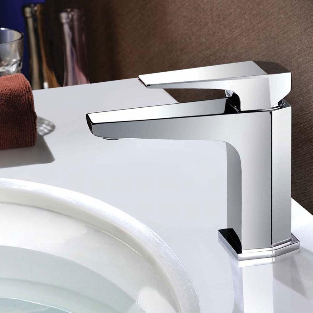 Sanlingo Serie VOZA Design Bagno Rubinetto Miscelatore Monocomando Lavabo Cromo